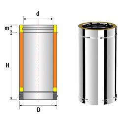 Termo ∅150/200mm L=500mm
