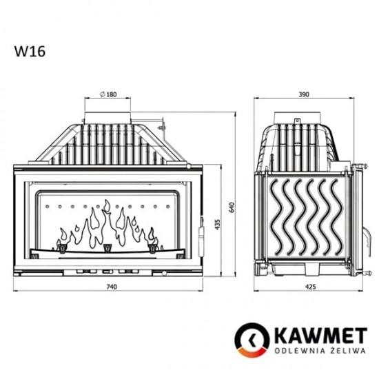"""Focar """"KawMet W16""""-kamin.md"""