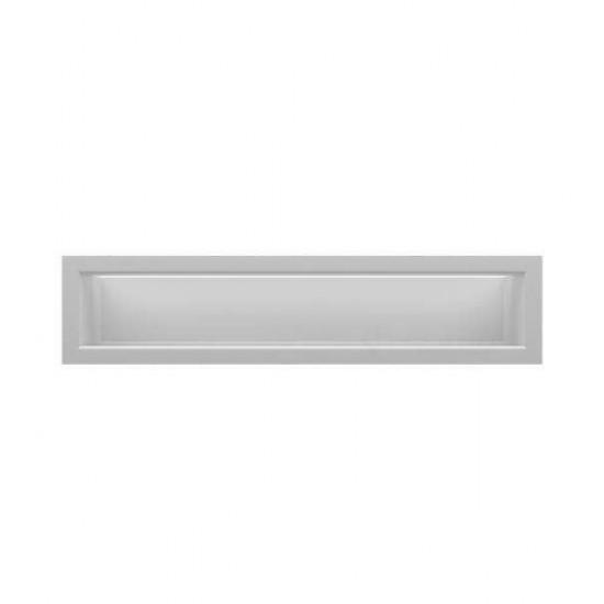 Grila LUX alba 30cm