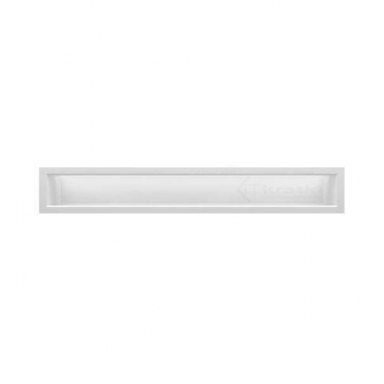 Grila LUX alba 50cm